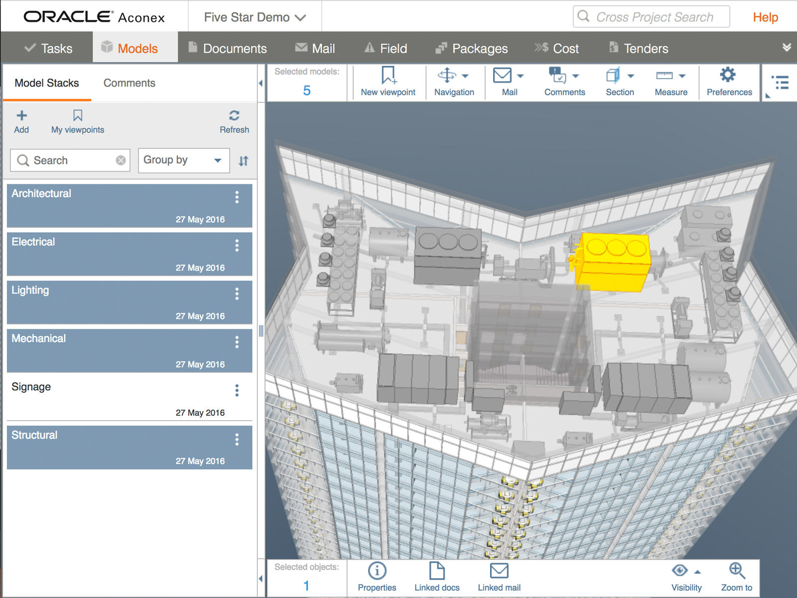 Oracle Aconex Demo - Aconex - #1 cloud construction management platform