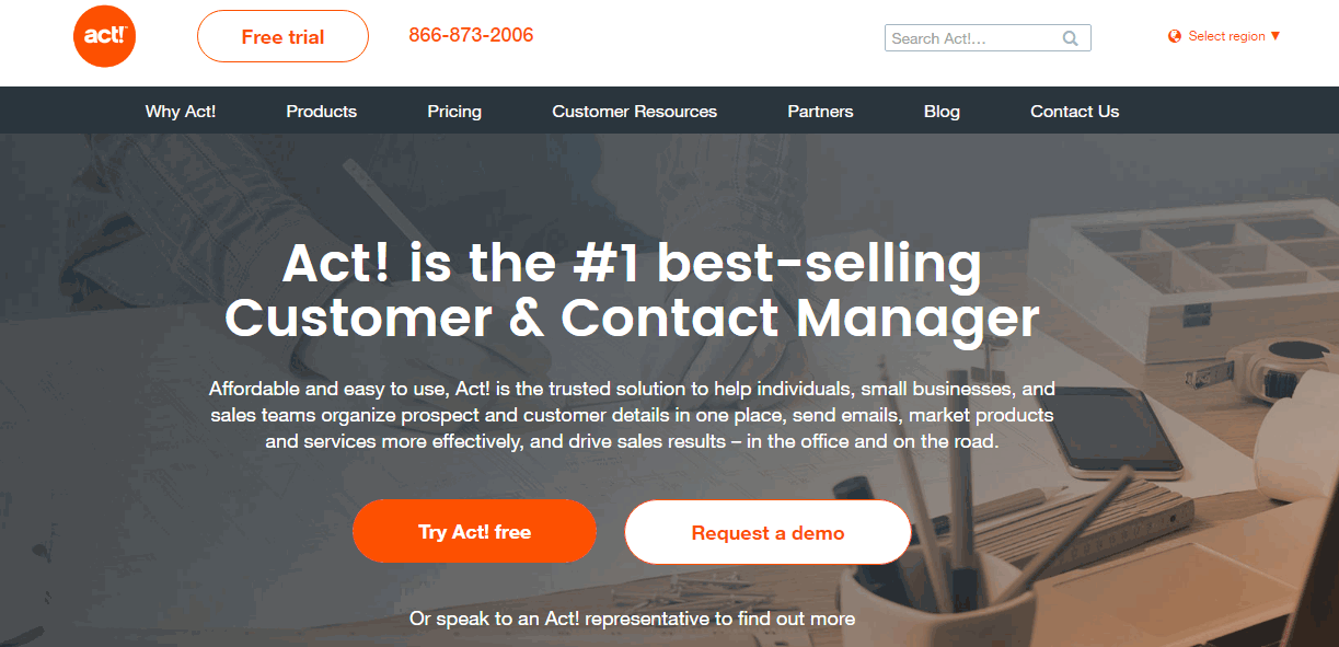 Act! CRM Screenshots
