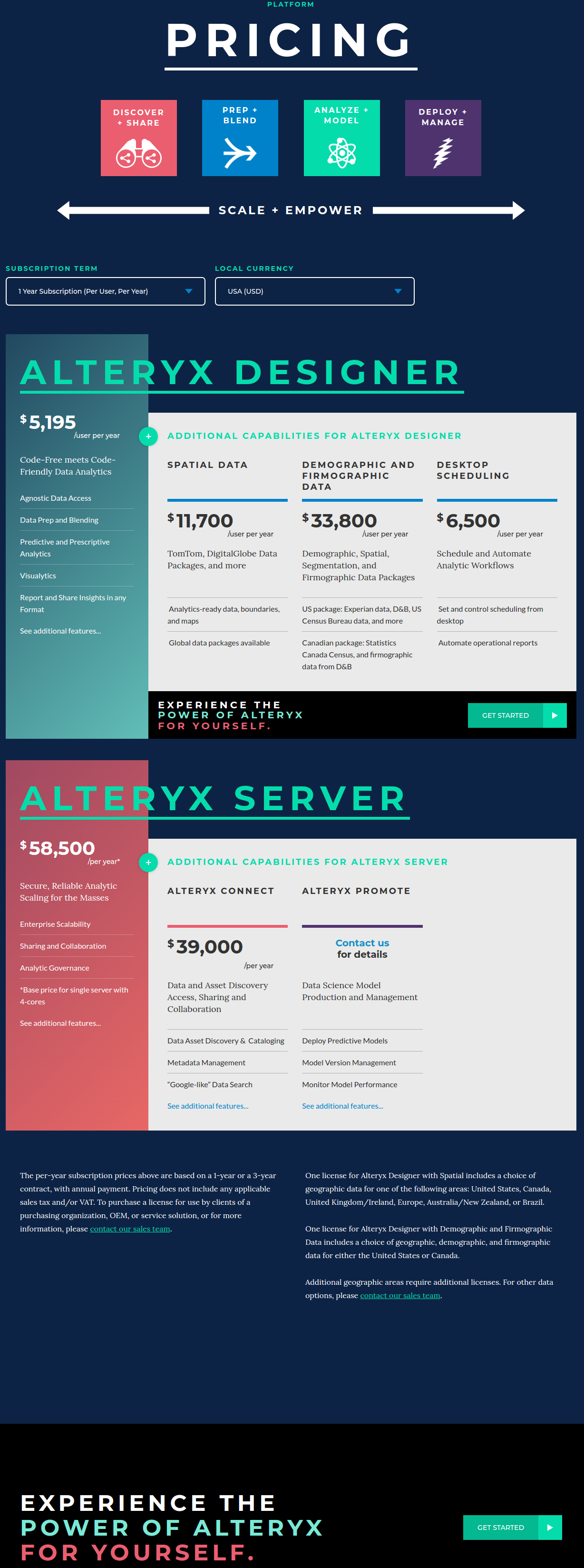 Alteryx Pricing, Reviews and Features (September 2019