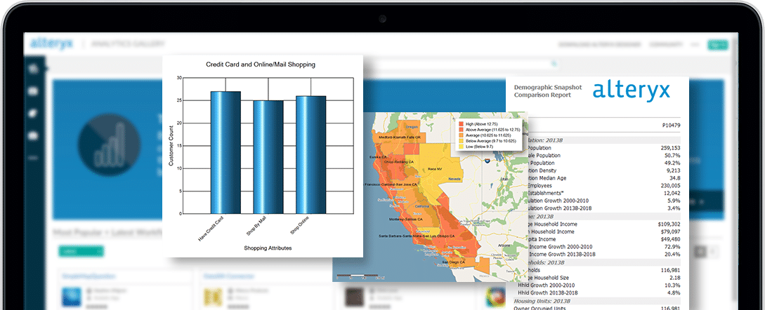 Alteryx screenshot: Alteryx Analytics Gallery