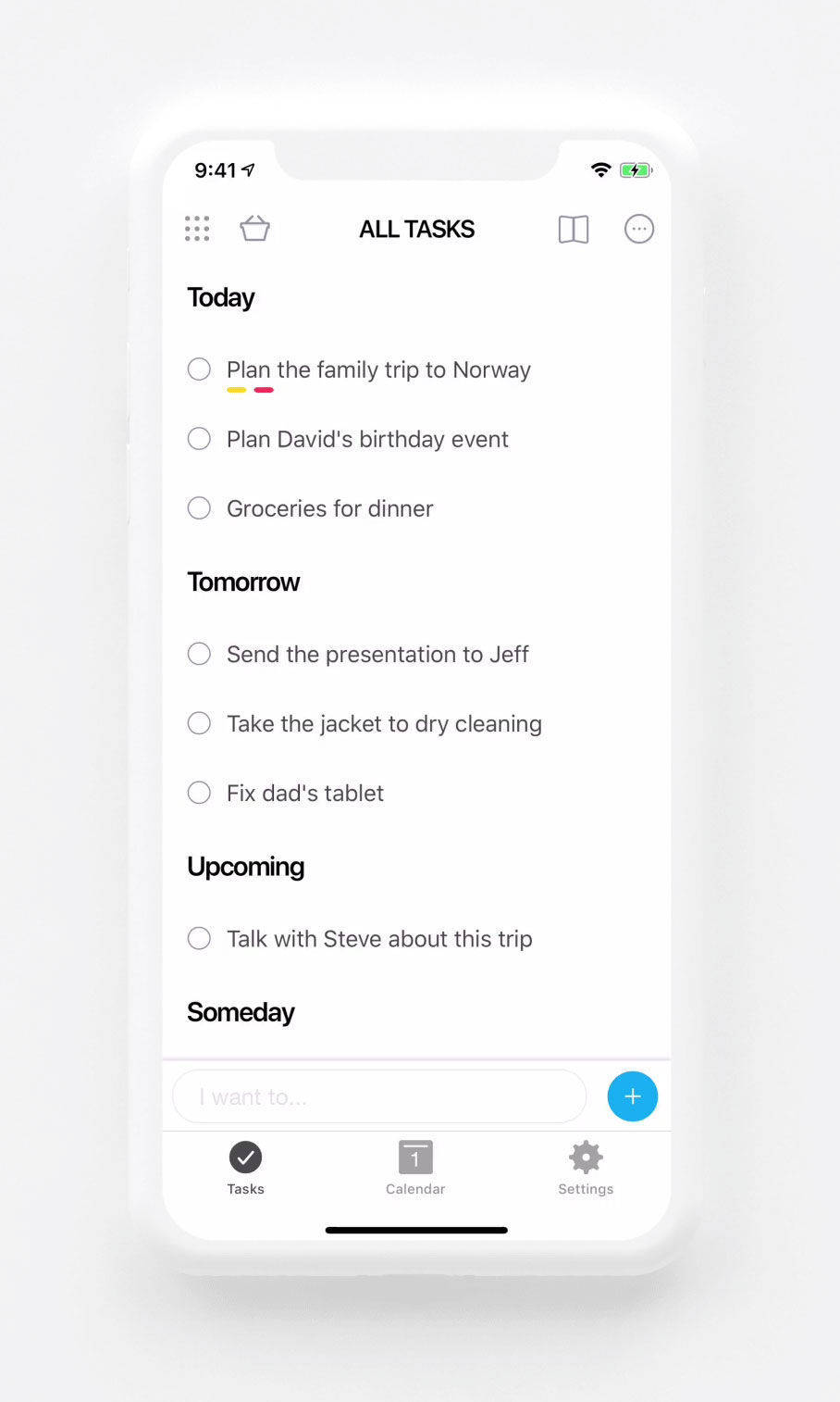 Task management Mobile App