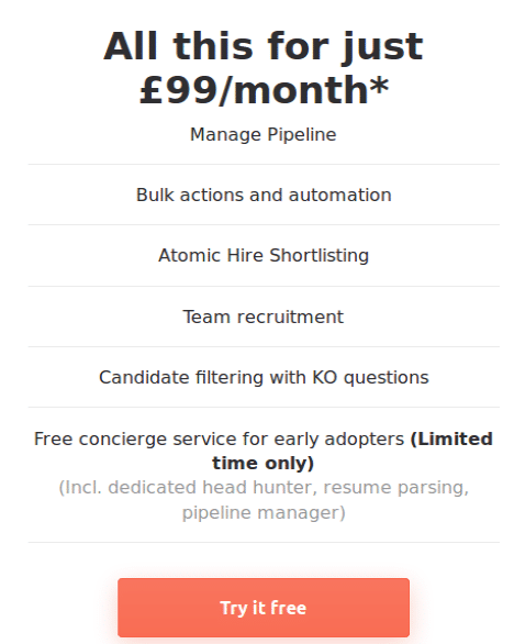 Atomic Hire Pricing