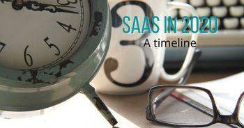 SaaS in 2020: a timeline