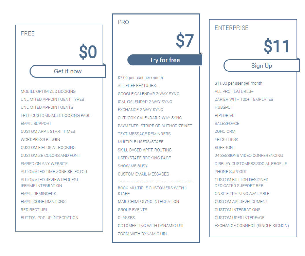 Bookafy Pricing, Reviews and Features (September 2019