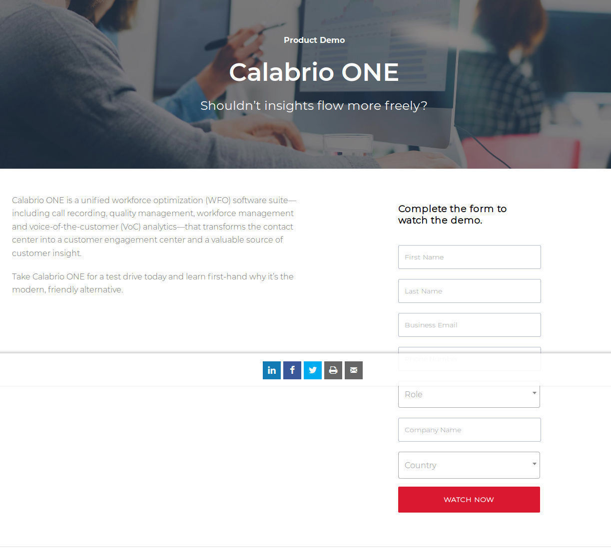 Calabrio One Pricing, Reviews and Features (September 2019