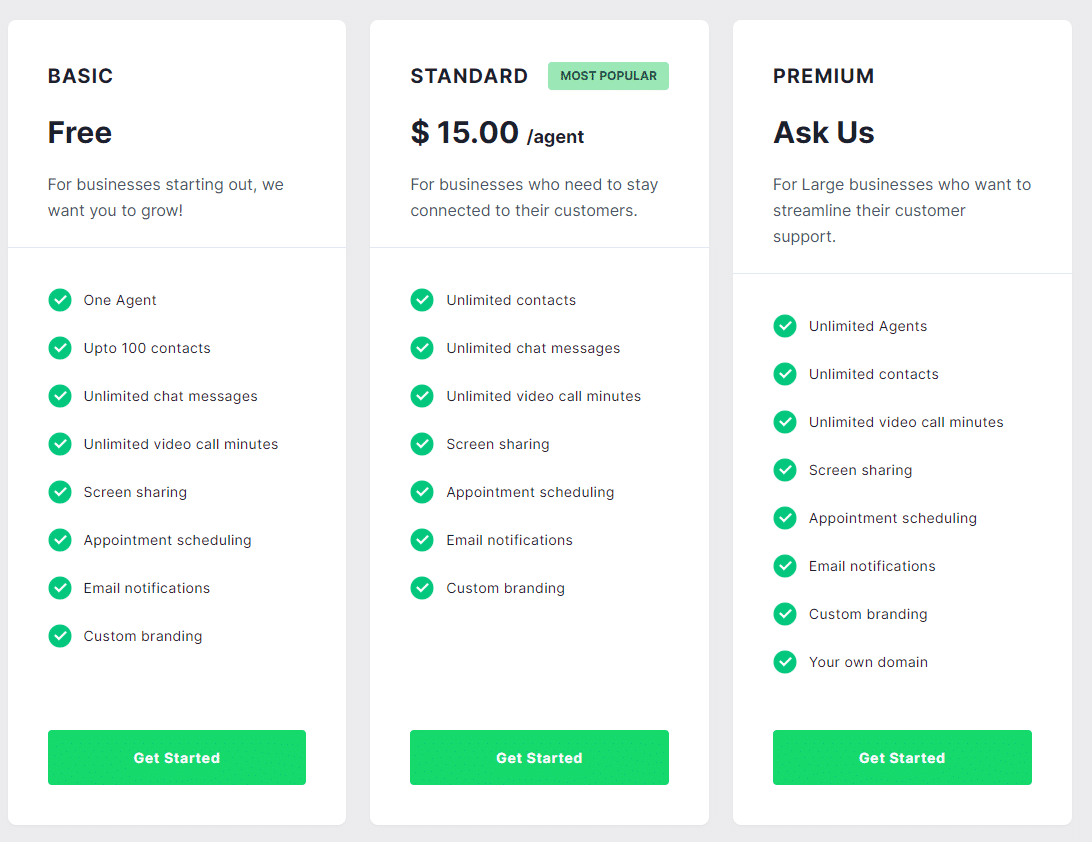 Chatpage Pricing