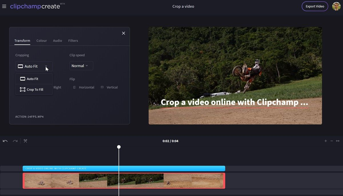 The Simple Way to Crop Video Online - Clipchamp