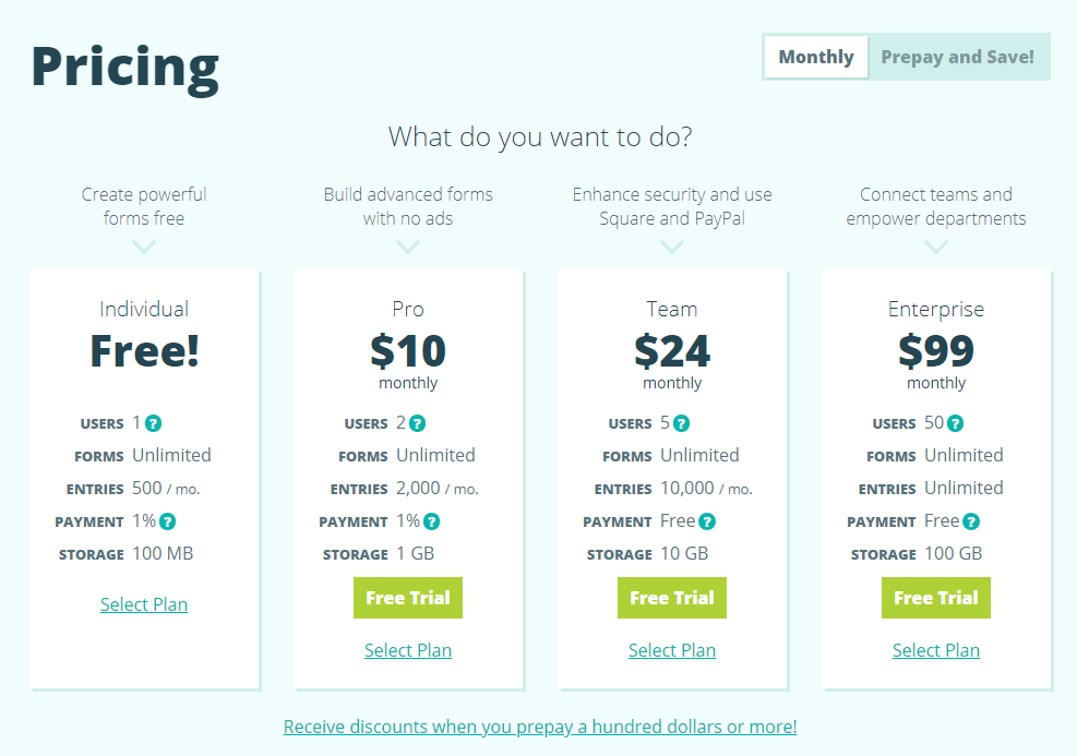 Cognito Forms Pricing, Reviews and Features (September 2019