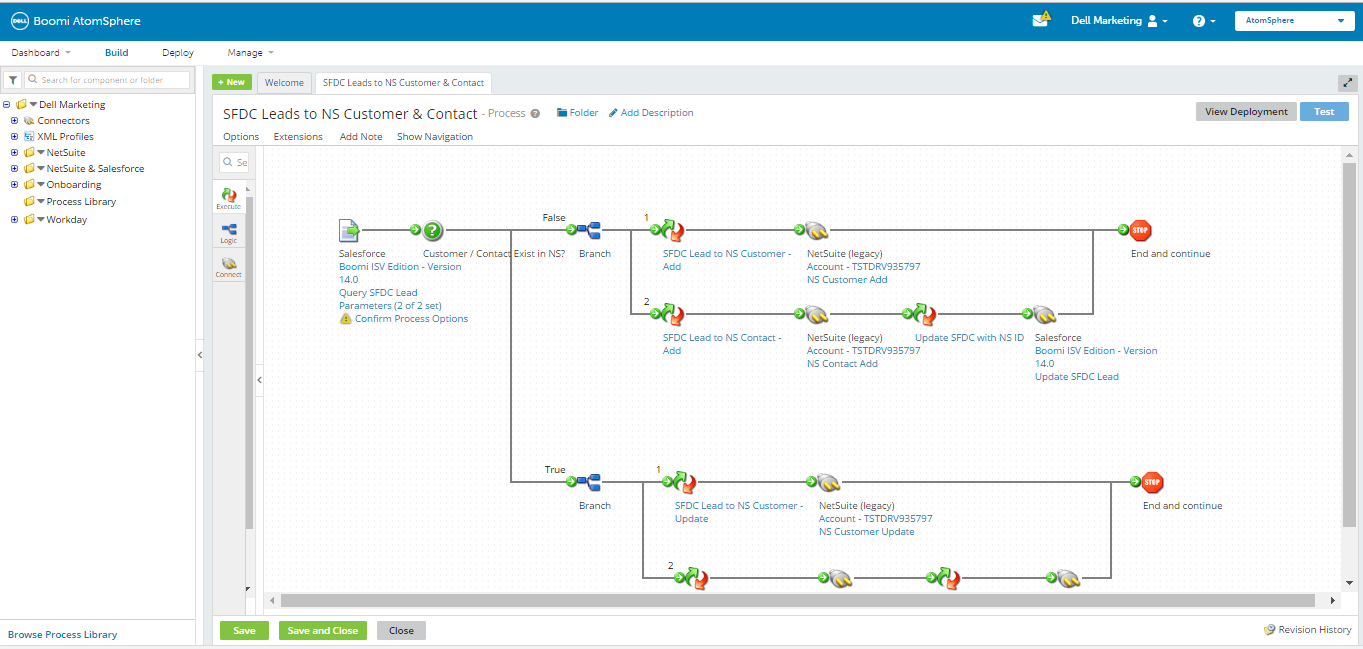 Dell Boomi API Management Screenshots