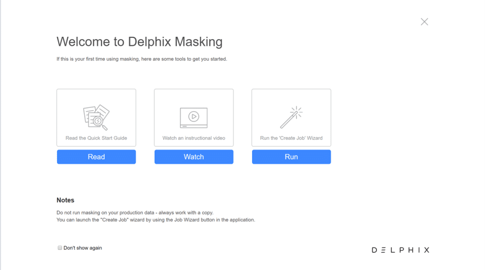 Delphix Screenshots