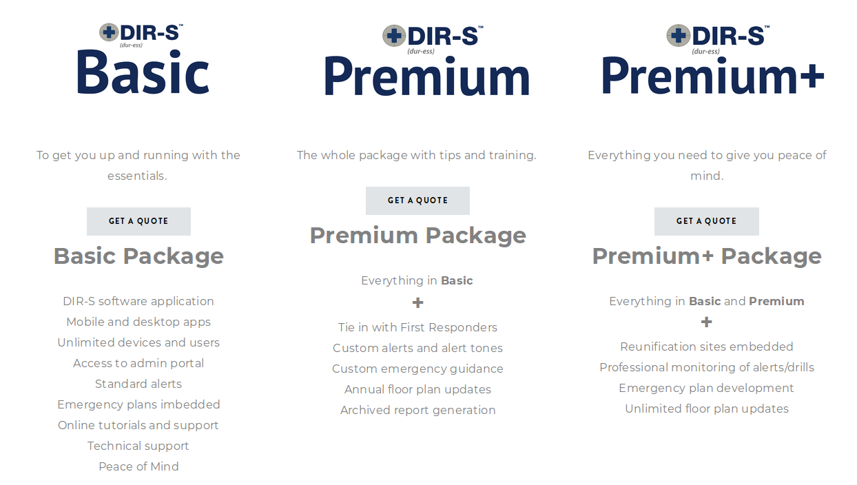 DIR-S Pricing