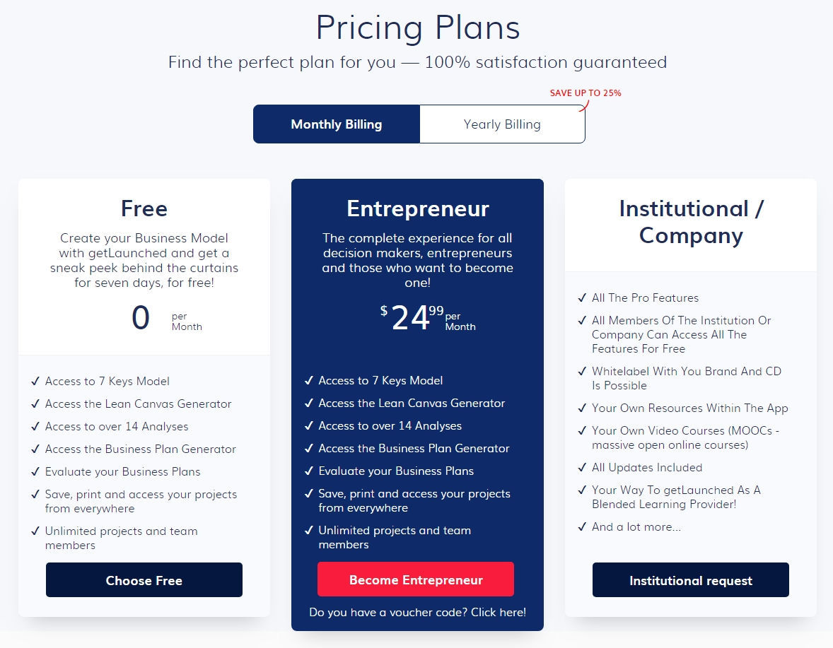 getLaunched Pricing, Reviews and Features (June 2019