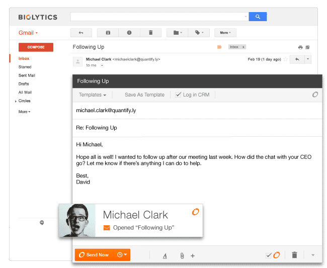 HubSpot CRM Demo - Email integration