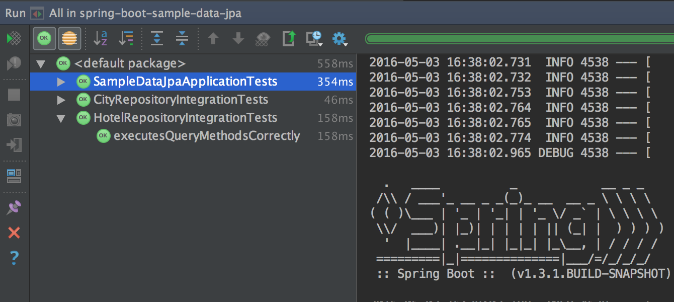 IntelliJ IDEA Demo - Test runner and coverage