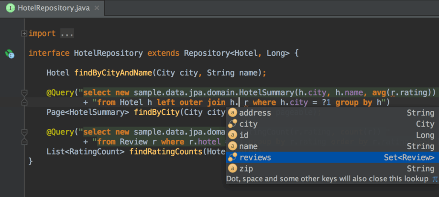 IntelliJ IDEA Screenshots