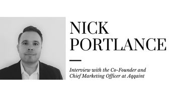 Interview with Nick Portlance, Co-Founder and Chief Marketing Officer at Aqqaint