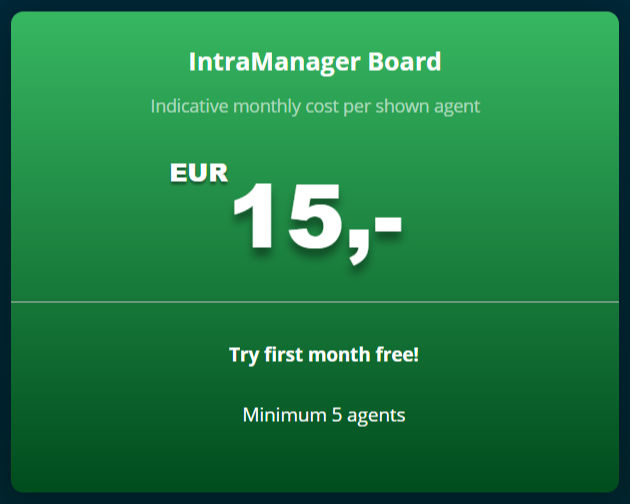IntraManager Board Pricing