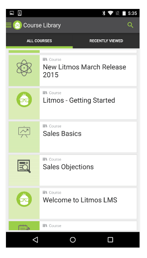 Litmos LMS Screenshots
