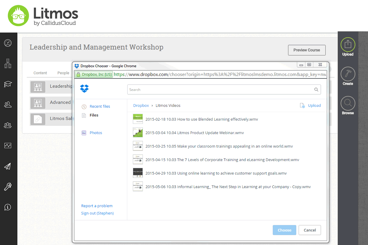 SAP Litmos Screenshots
