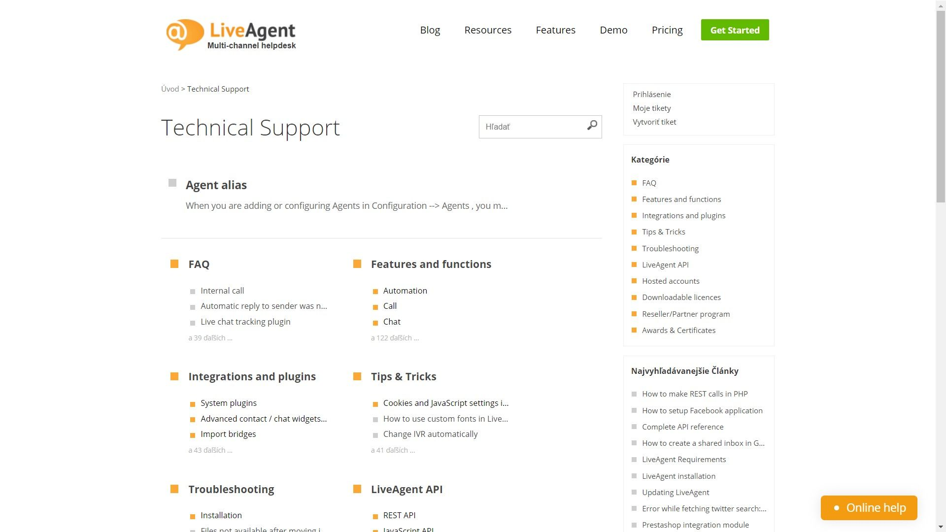 LiveAgent Screenshots