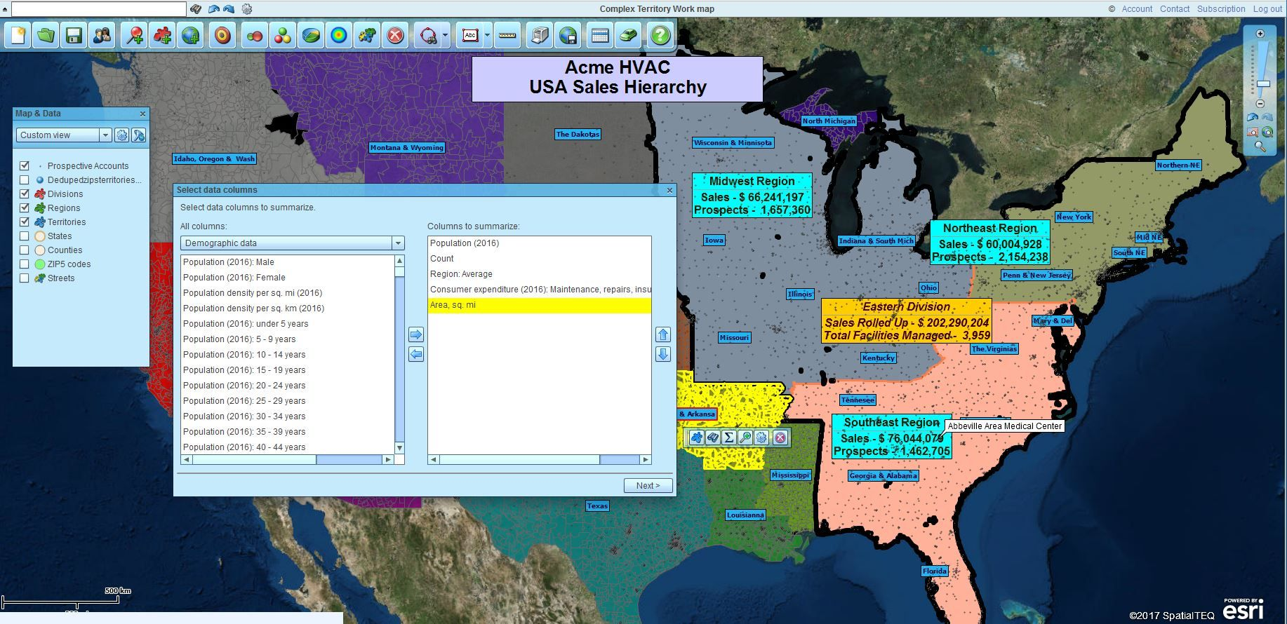 Map Business Online 5.0 – Advanced Territory Mapping
