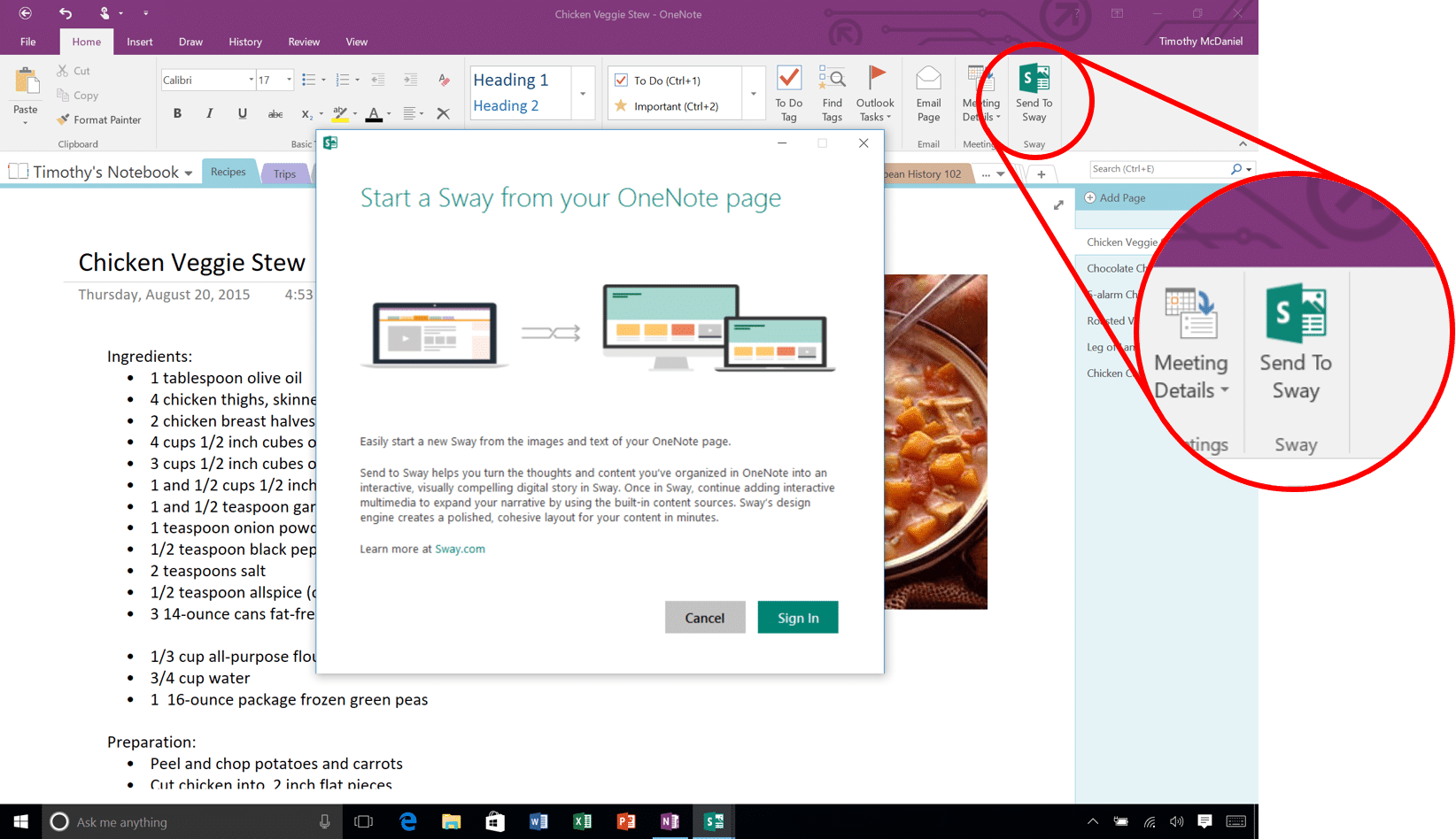 Microsoft Sway Screenshots