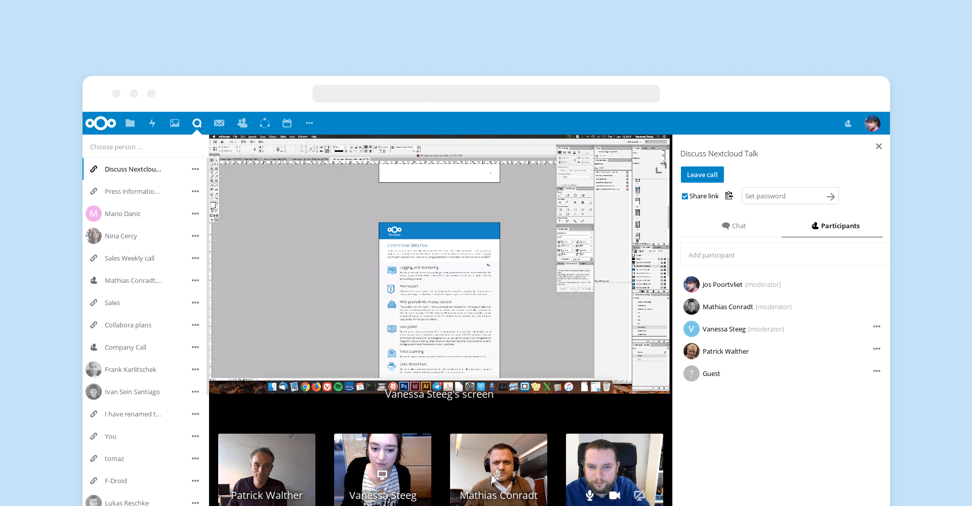 Nextcloud Screenshots