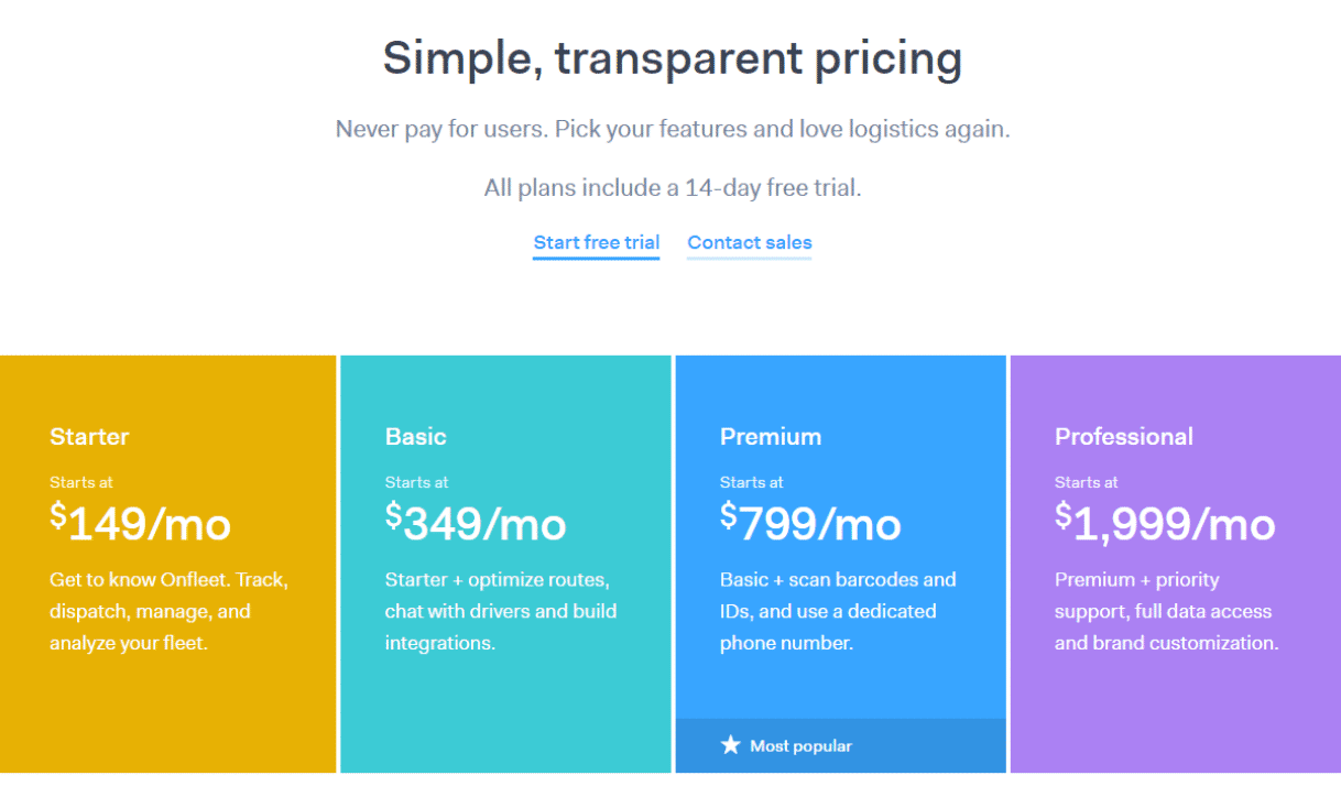 Onfleet Pricing, Reviews and Features (August 2019
