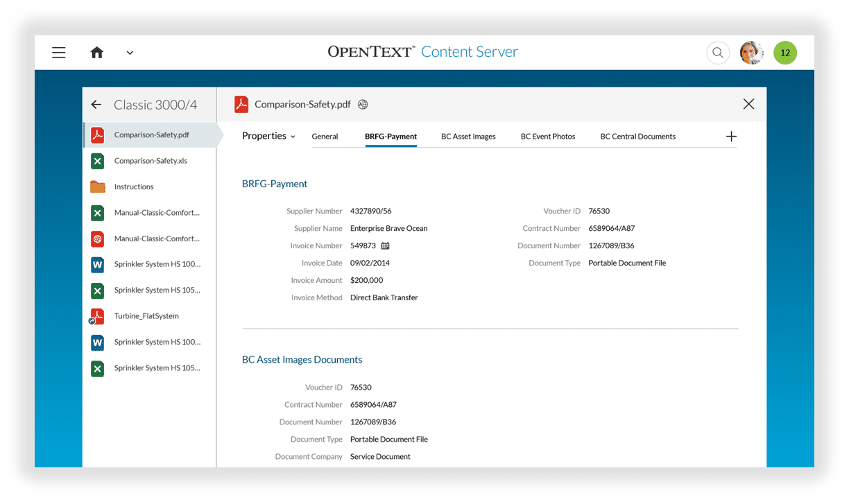OpenText ECM Demo - scroll+spy+navigation.png