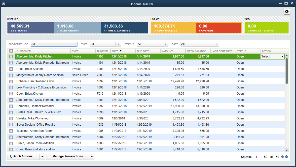 QuickBooks Desktop Pro Demo - Track how your business is doing and get financial, tax and sales reports in one click