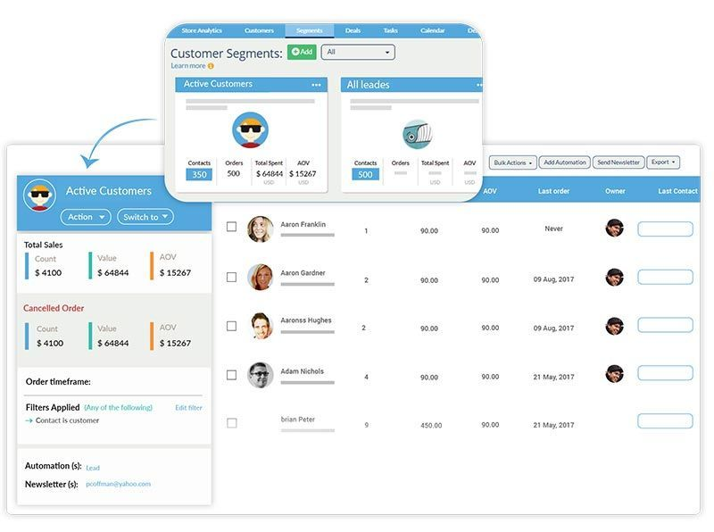 Revamp CRM screenshot