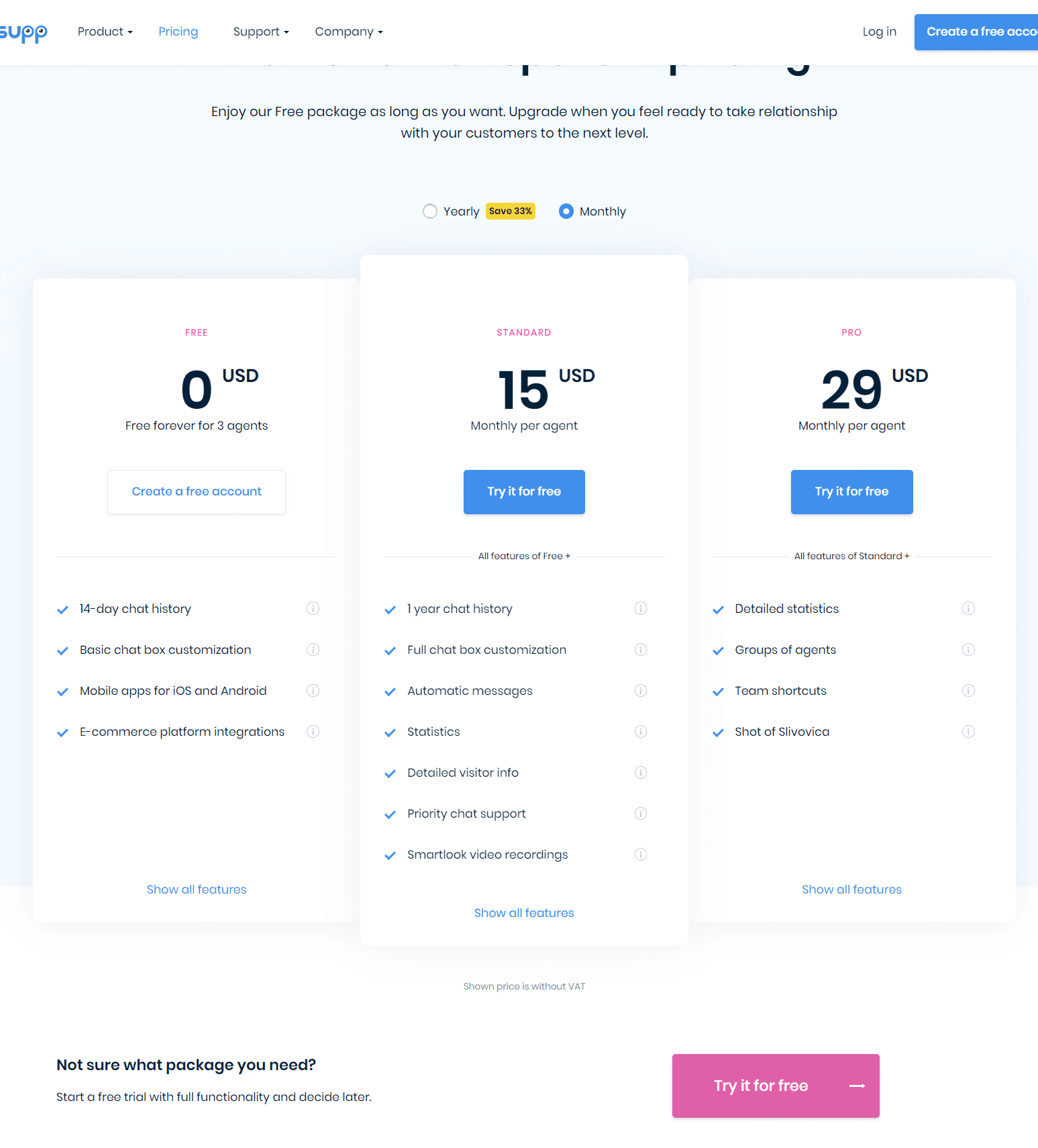 Smartsupp Pricing