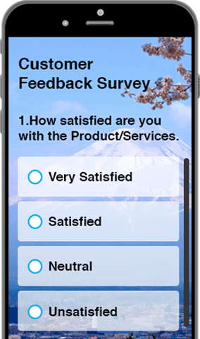 SoGoSurvey screenshot: All surveys, polls and quizzes are mobile optimized and display on any device
