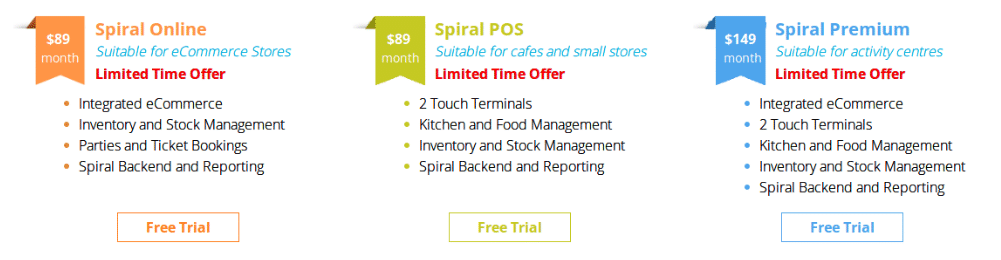 Spiral POS Pricing, Reviews and Features (September 2019
