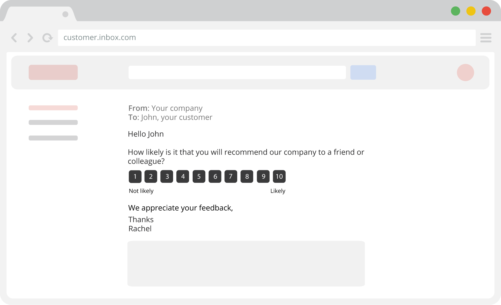 Survicate screenshot: Email NPS survey - research your Net Promoter Score effectively