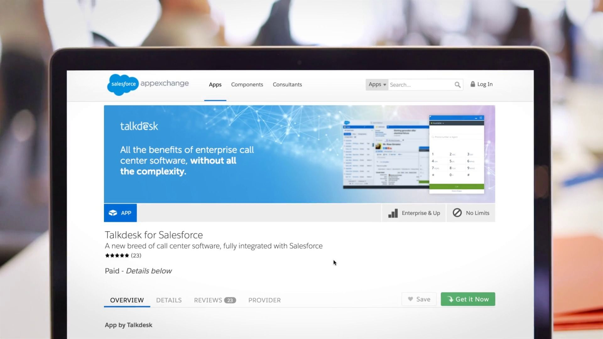 Talkdesk for Salesforce Service Cloud