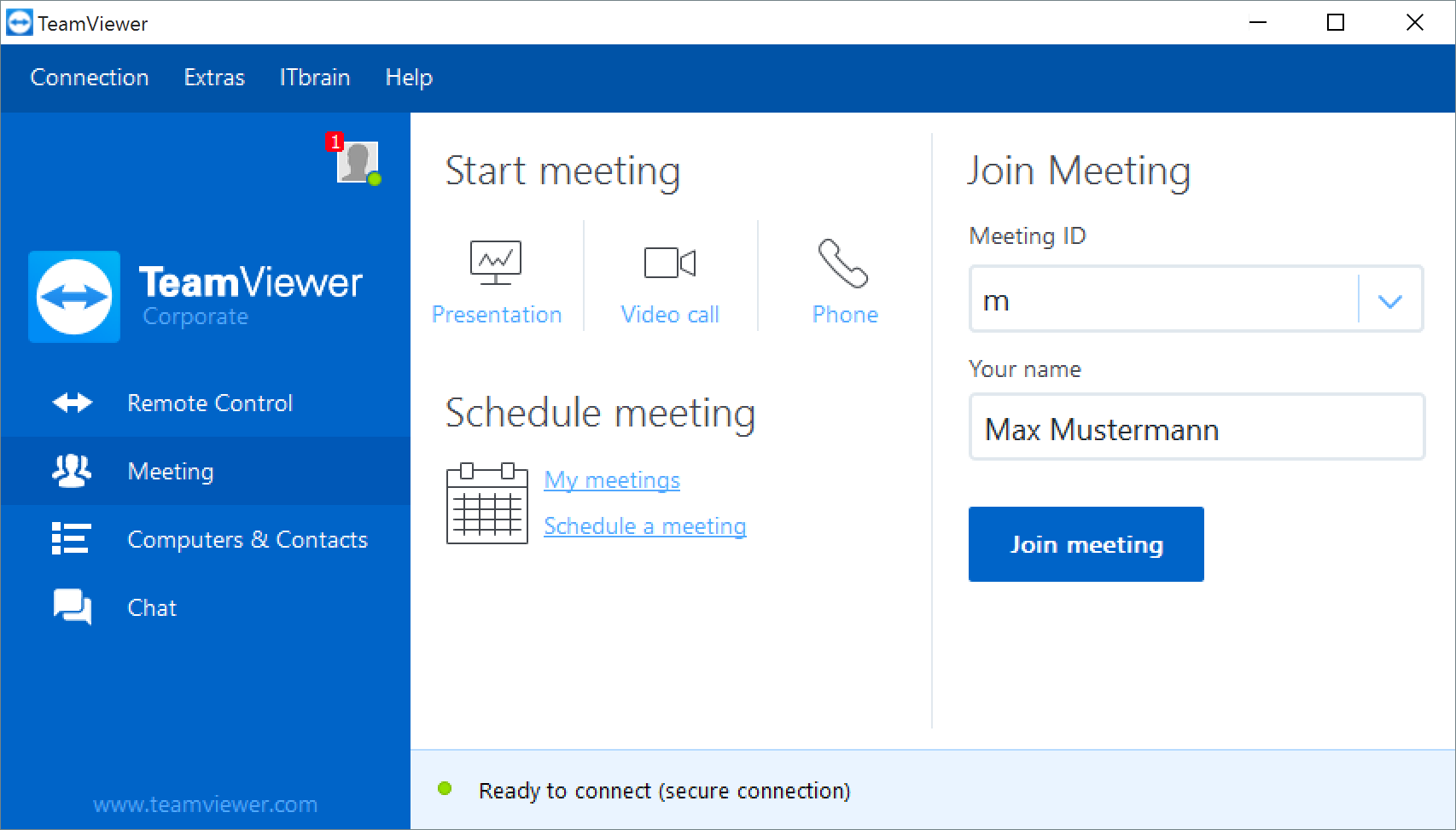 TeamViewer Screenshots
