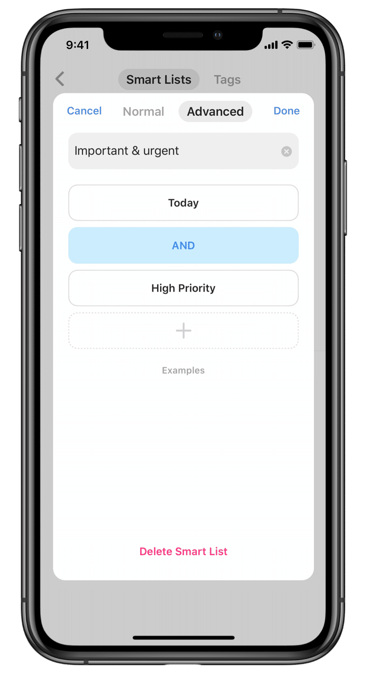 TickTick : Smart List screenshot