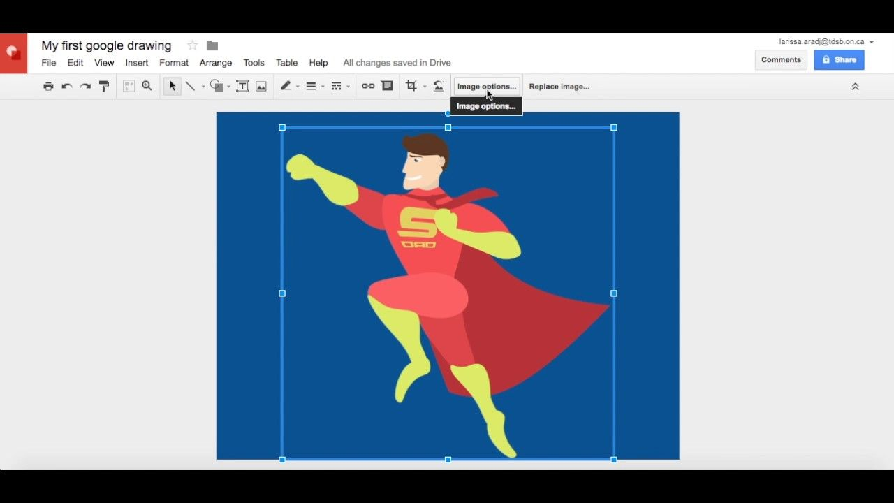 Top 5 Alternatives to Adobe Illustrator: Google Drawings
