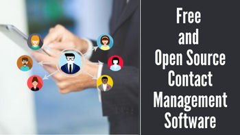 Top Free and Open Source Contact Management Software in 2019
