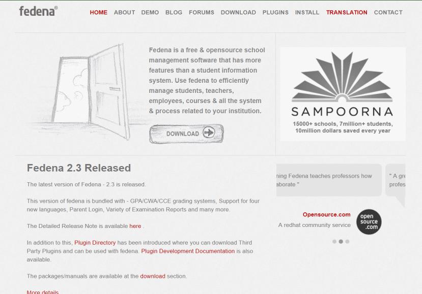 Top Free and Open Source School Management Software | SaaSworthy