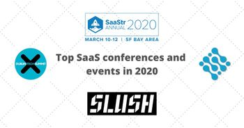 Top SaaS conferences and events in 2020