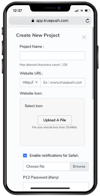 Truepush : Project Deduplication screenshot