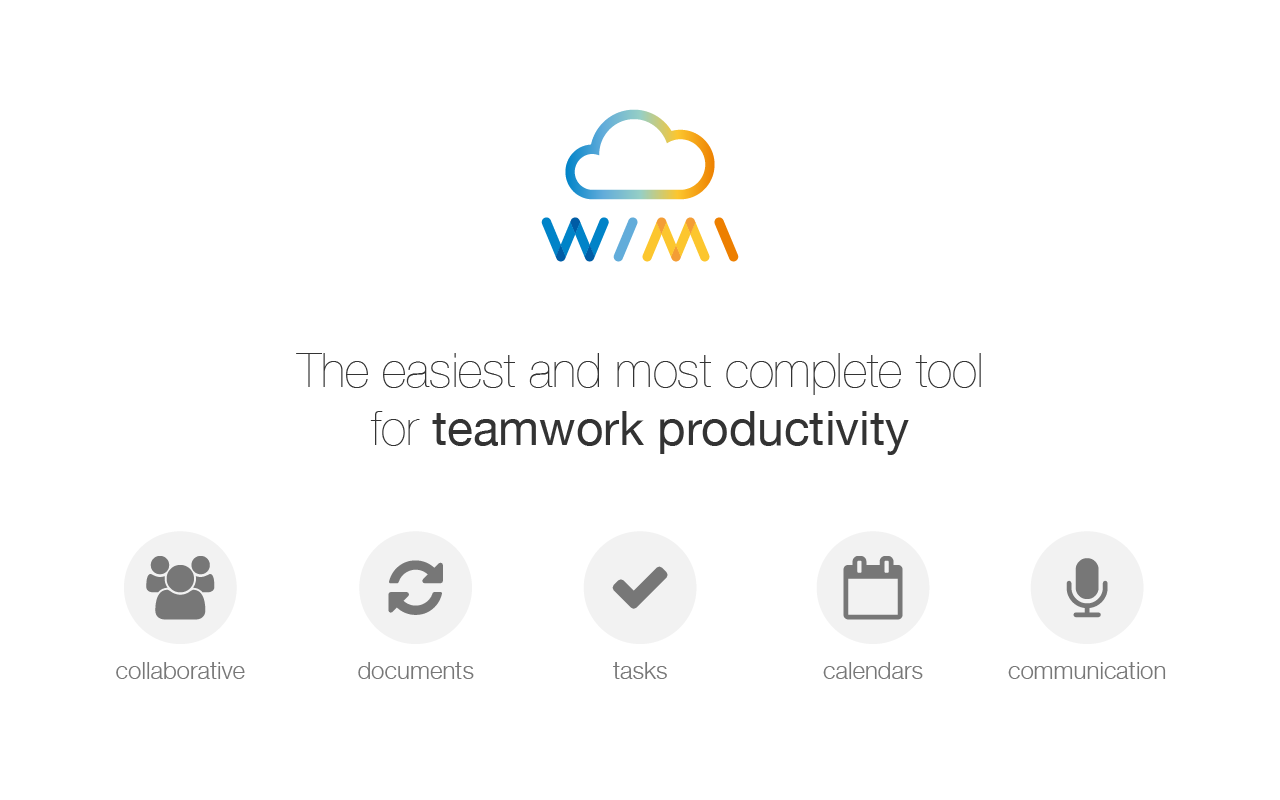 Wimi Demo - Ultimate All-in-one Collaboration Tool