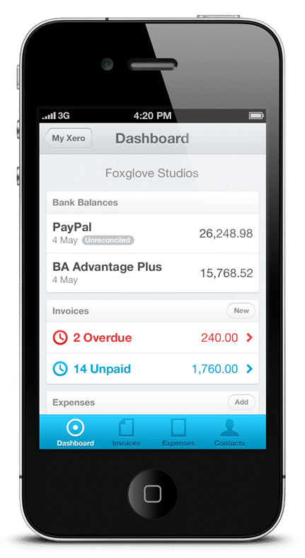 Xero Demo - Xero on the iPhone