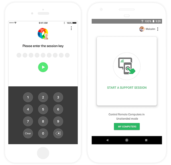 Zoho Assist Screenshots